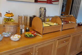 Rothenburg ob der Tauber : breakfast 2