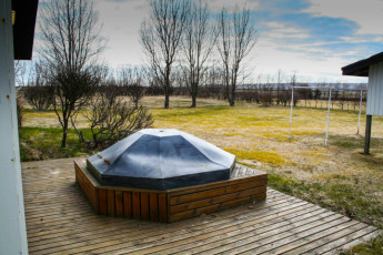 South Central Hostel : Hot tube