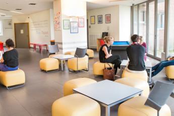 Brugge - Europa : Lounge - Bruges Europa Hostel, Belgium