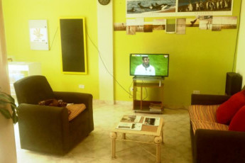Hi Patagonia Suites : HI Patagonia Suites, hostel lounge