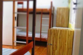 Fortaleza – Fortaleza Hostel : Fortaleza Hostel, quarto coletivo