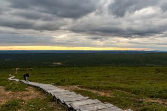 Saariselkä - Hostel Ahopää : Kiilopaa hill