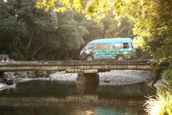 Bellingen YHA – Belfry Guesthouse : Bellingen YHA - bus