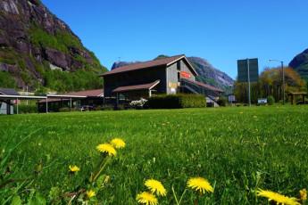 Lysefjorden : accueil Lysefjorden Hostel, Norvège