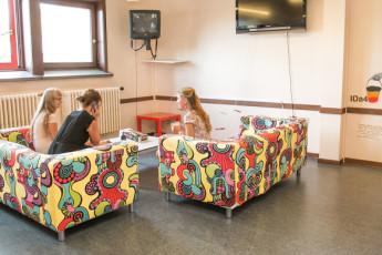 Brugge - Europa : TV room- Bruges Europa Hostel, Belgium