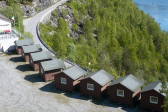 Hellesylt : la naturaleza local cerca del Hellesylt hostal en Noruega