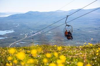 Abisko Mountain Station : renos cerca de la Laponia - Abisko turística estación hostal en Suecia