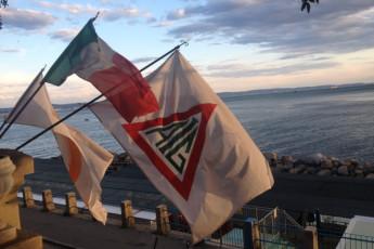 Trieste - 'Tergeste YH' : entrada de Trieste - Tergeste albergue juvenil, Italia