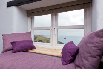 YHA Tintagel : 018237 - Tintagel hostel, view from a window image