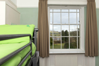 YHA Hawkshead : 018051 - Hawkshead hostel, dorm and window view image