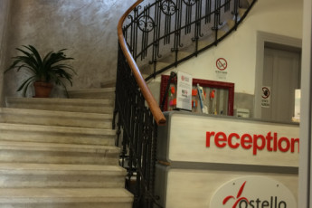 Trieste - 'Tergeste YH' : Habitación Twin en Trieste - Tergeste albergue juvenil, Italia
