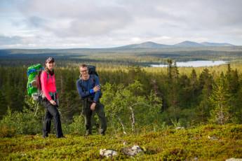 Saariselkä - Hostel Ahopää : Landscapes of Kiilopaa