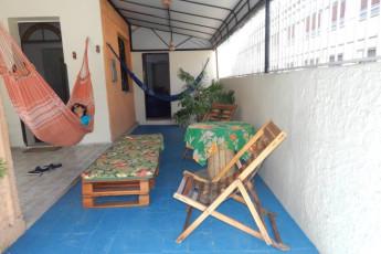 Fortaleza – Fortaleza Hostel : Fortaleza Hostel, varanda