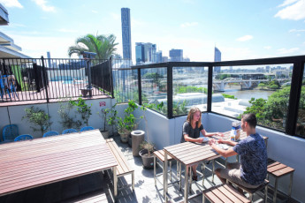 Brisbane - Brisbane City YHA : Rooftop
