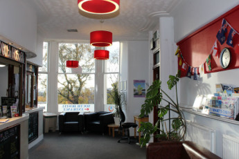 Glasgow SYHA : Glasgow Youth Hostel Reception