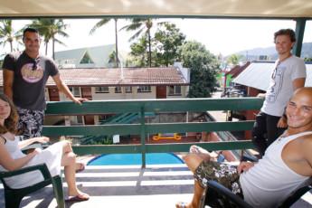 Airlie Beach YHA : Balcony