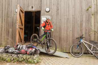 Voeren - De Veurs : Hostel De Veurs mountain bike