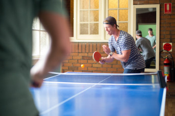Newcastle Beach YHA : Ping pong