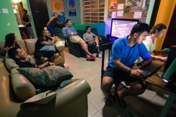 Rio De Janeiro - Cabanacopa Hostel : Lounge