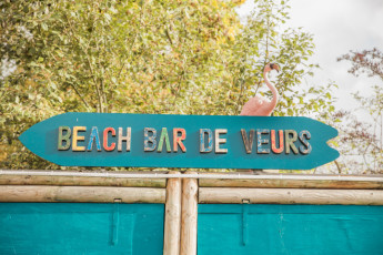 Voeren - De Veurs : Hostel De Veurs summer beach bar