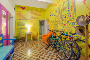 Oaxaca - Casa de Don Pablo Hostel : bikes for free to explore Oaxaca