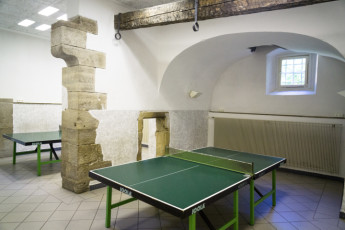 Rothenburg ob der Tauber : Table-Tennis