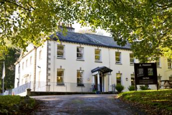 YHA Penzance : vor Außenansicht von Penzance Hostel, England