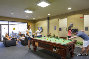 Perth City YHA : Perth City YHA games room