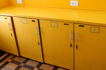 Mango Tree Hostel Ipanema : Mango Tree hostel lockers