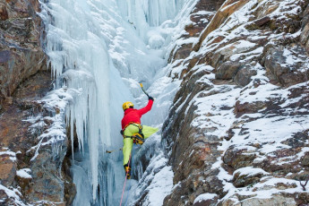 Abisko Mountain Station : Ice climbing