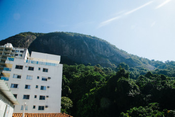 Rio De Janeiro - Cabanacopa Hostel : Rooftop view