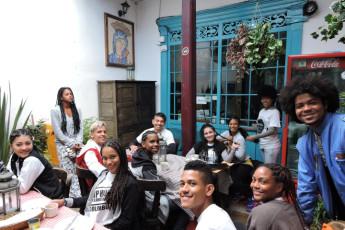 Bogota - Chocolate Hostel : Nuestros huéspedes