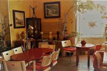 Albergue La Casa Encantada : Salon