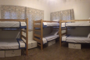HI Little Rock Firehouse Hostel & Museum : Co-Ed and Wheelchair Accessible Room