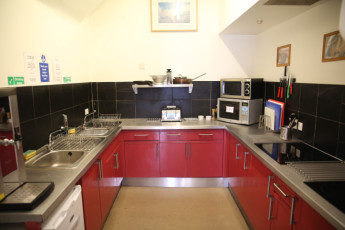 Morag's Lodge : Kitchen