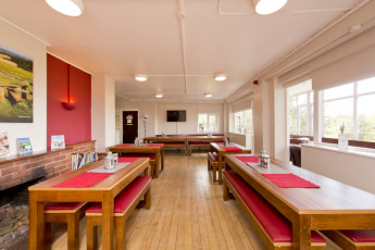 YHA Truleigh Hill : 018241 - Truleigh Hill hostel, dining room image