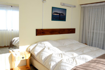 Hi Patagonia Hostel : HI Patagonia hostel, hostel double bed