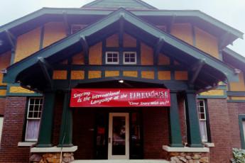 HI Little Rock Firehouse Hostel & Museum : Front of the building