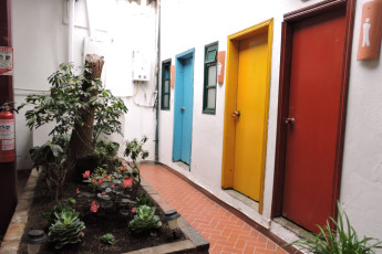 Bogota - Chocolate Hostel : our bathrooms