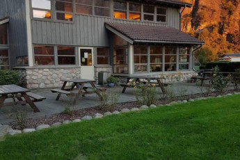 Lysefjorden : habitación común en Lysefjorden albergue, Noruega