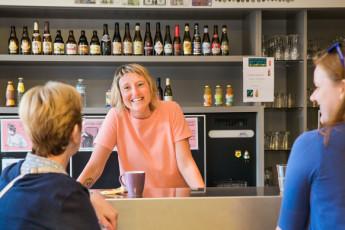 Brugge - Europa : Bar - Bruges Europa Hostel, Belgium