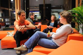 Voeren - De Veurs : Hostel De Veurs lounge