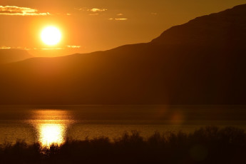 Abisko Mountain Station : Midnight Sun