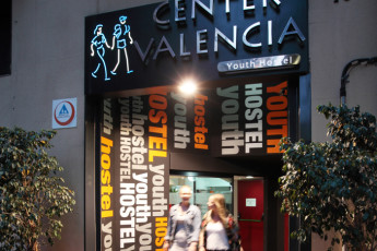 Valencia -    Center Valencia : Main entrance
