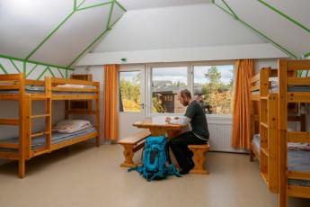 Saariselkä - Hostel Ahopää : Hostel room