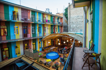 Budapest - Casa De La Musica : Terrace Bar