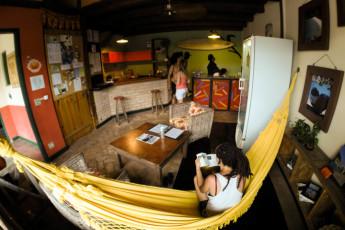 Ilha Bela - Hostel Central Ilhabela : Recepção