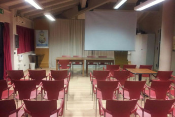 Perugia - Mario Spagnoli : hostel, 031085, ostello Spagnoli Perugia, italia, meetingroom