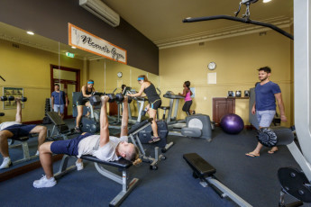 Perth City YHA : Perth City YHA gym