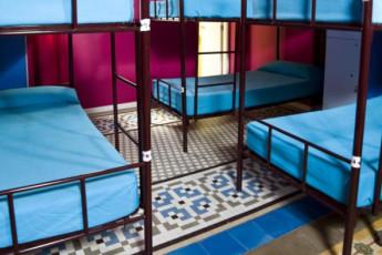 Valencia – Purple Nest Hostel : purple nest dorm room